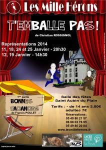Affiche Théâtre 2014